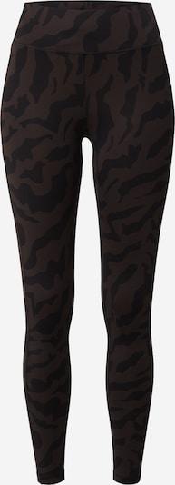 Casall Pantalón deportivo en marrón oscuro / negro / blanco, Vista del producto