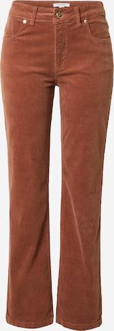 Pantalon 'Janice' Claire en marron