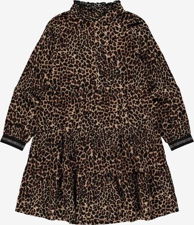 NAME IT Kleid 'Nagira' in hellbraun / dunkelbraun / schwarz, Produktansicht