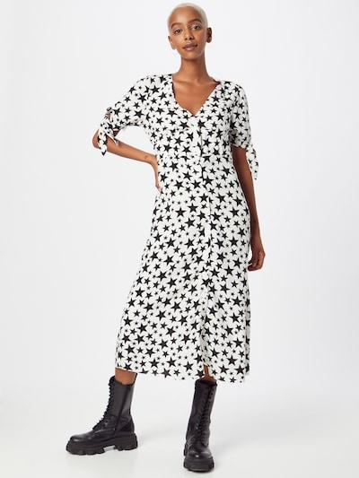 Nobody's Child Kleid 'Alexis' in schwarz / weiß, Modelansicht