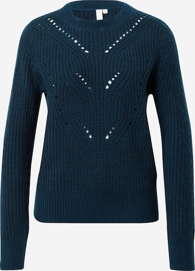 Q/S designed by Pullover in petrol, Produktansicht