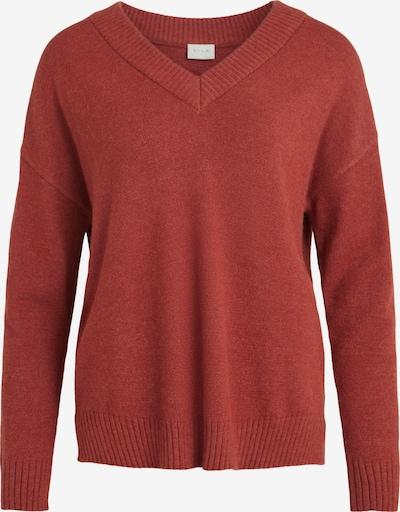 VILA Pullover in rostbraun, Produktansicht