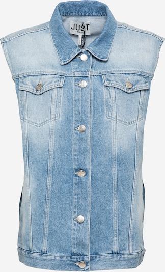 JUST FEMALE Vest in Blue denim, Item view