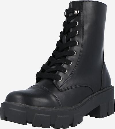 GLAMOROUS Šnurovacie členkové čižmy - čierna, Produkt