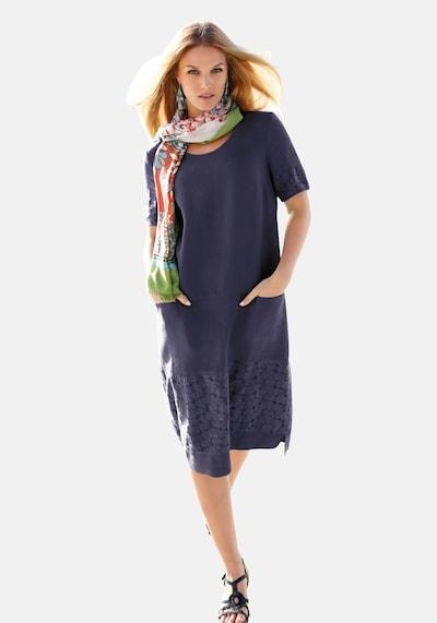Anna Aura Kleid in blau: Frontalansicht