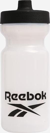 REEBOK Trinkflasche in schwarz / weiß, Produktansicht