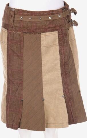 Sandwich Skirt in M in Brown