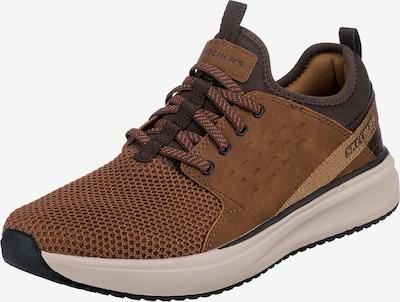 SKECHERS Sneaker in cognac / hellbraun / dunkelbraun, Produktansicht