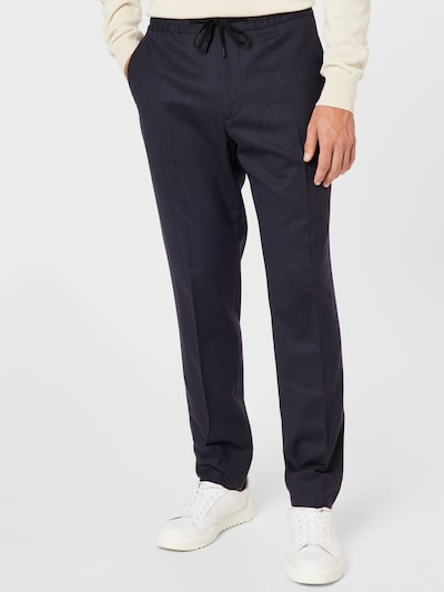 Pantaloni cu dungă 'Sasha' J.Lindeberg pe bleumarin, Vizualizare model