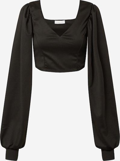 Tricou 'Emma' Femme Luxe pe negru, Vizualizare produs