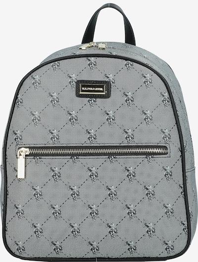 U.S. POLO ASSN. Rucksack in grau / schwarz, Produktansicht
