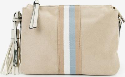 TAMARIS Sac à bandoulière 'Cora' en sable / bleu clair / rose ancienne, Vue avec produit