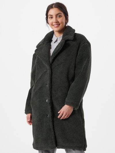 OBJECT Manteau mi-saison en vert foncé, Vue avec modèle