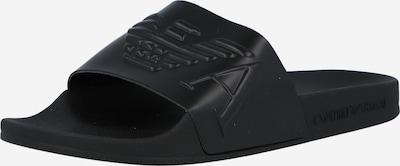 Emporio Armani Mule en noir, Vue avec produit