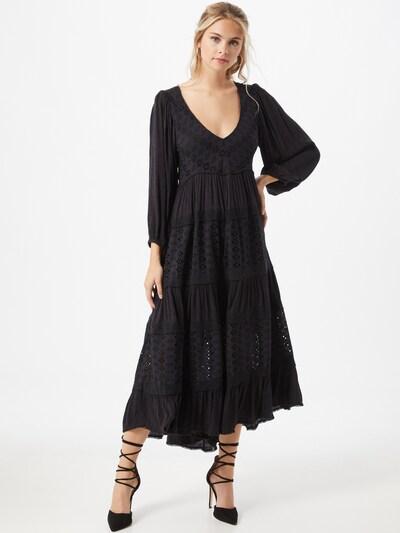Free People Kleid in schwarz, Modelansicht