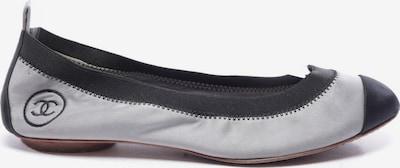 CHANEL Ballerinas in 36 in grau / schwarz, Produktansicht