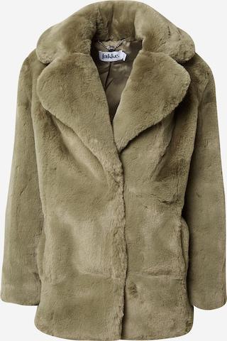 Manteau mi-saison 'HEATHER' JAKKE en vert