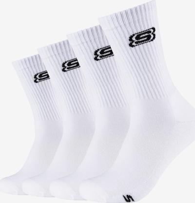 SKECHERS Socken in schwarz / weiß, Produktansicht
