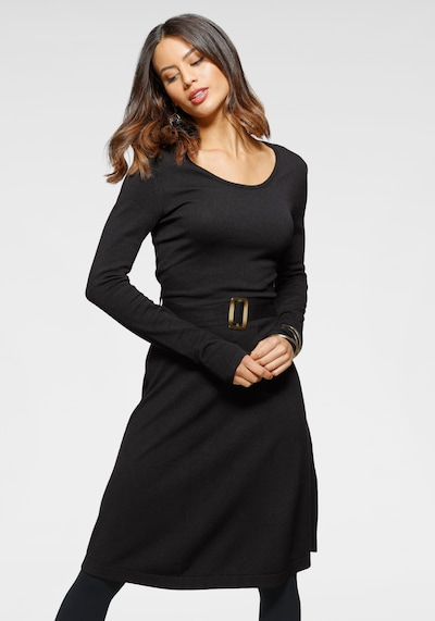 LAURA SCOTT Dress in Black, View model