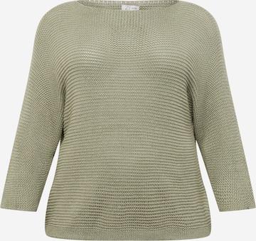 Z-One Pullover 'Alis' in Grün