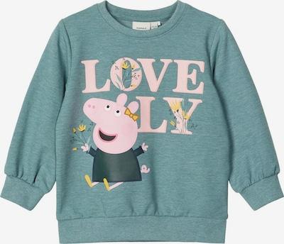 NAME IT Sweatshirt 'Peppa Pig' in jade / rosa, Produktansicht