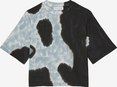 Marc O'Polo Sweatshirt in hellblau / schwarz / weiß, Produktansicht