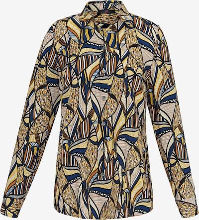Emilia Lay Langarmbluse mit Hemdkragen in mischfarben, Produktansicht