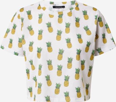 Trendyol T-shirt en jaune / jade / vert clair / orange / blanc cassé, Vue avec produit