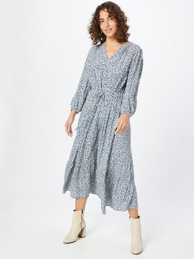 TOM TAILOR Dress in Dark blue / White, View model