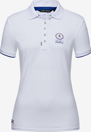 CODE-ZERO Poloshirt 'St Jean' Polo in weiß, Produktansicht