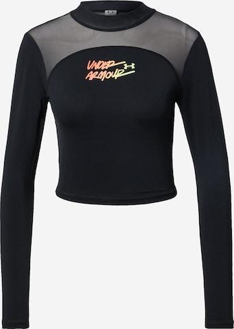 UNDER ARMOUR Funksjonsskjorte i svart
