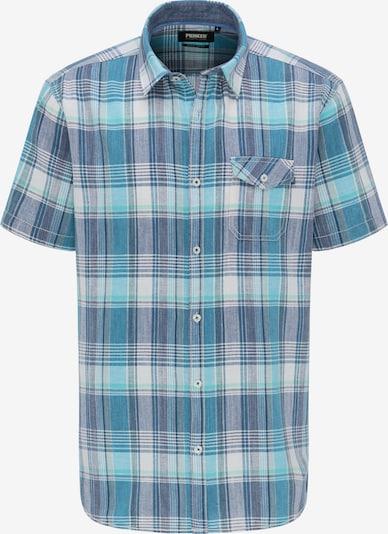 PIONEER Hemd in dunkelblau / grün / petrol / weiß, Produktansicht