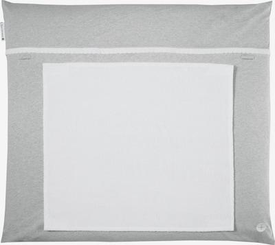 nordic coast company Wickelauflage mit abnehmbarem Frotteehandtuch in grau, Produktansicht