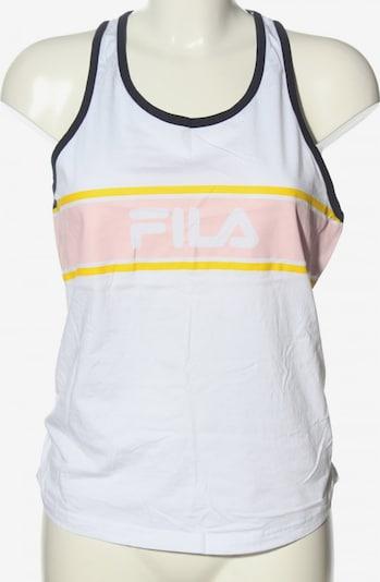 FILA Trägertop in M in pastellgelb / schwarz / weiß, Produktansicht