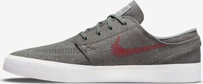 NIKE Sneaker in grau / rot, Produktansicht