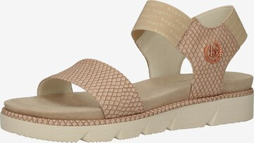 bugatti Sandale in Beige