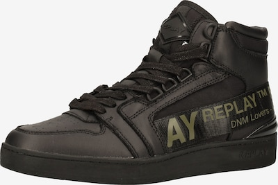 REPLAY Baskets hautes en noir, Vue avec produit