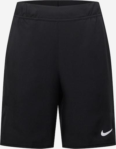 NIKE Спортен панталон 'Victory' в черно / бяло: Изглед отпред