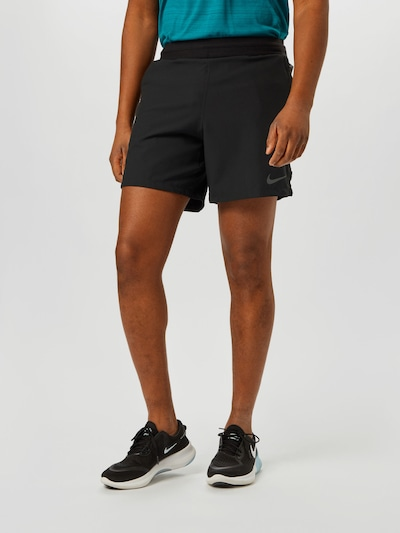 Sportinės kelnės 'PRO' iš NIKE, spalva – juoda, Modelio vaizdas