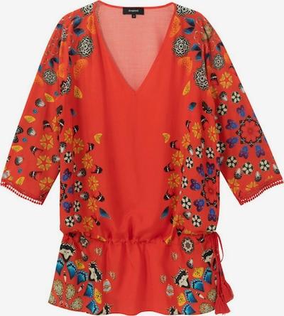 Desigual Robe 'MAUI' en bleu / jaune foncé / violet foncé / rouge / blanc, Vue avec produit