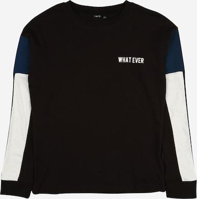LMTD Shirt 'NOEL' in navy / schwarz / weiß, Produktansicht