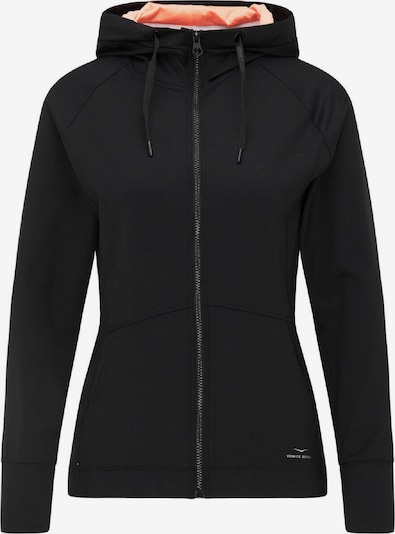 VENICE BEACH Sportsweatjacke 'Luka' in schwarz, Produktansicht