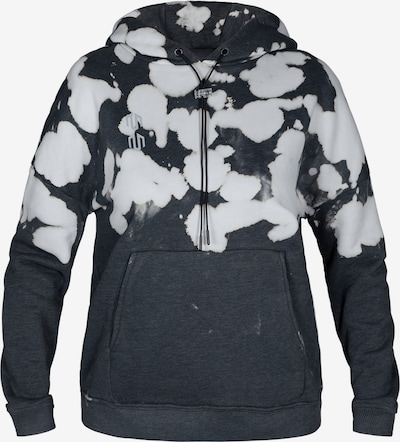 MOROTAI Athletic Sweatshirt 'Batech' in Dark grey / White, Item view