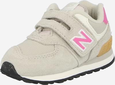 new balance Brīvā laika apavi kapučino / rozā / balts, Preces skats