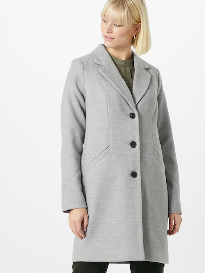 VERO MODA Between-seasons coat in grey, View model