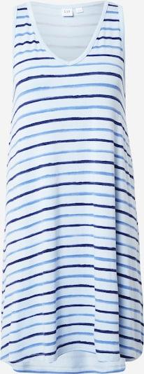 GAP Robe d'été 'RAYON SWING' en bleu / bleu clair / bleu foncé / blanc cassé, Vue avec produit
