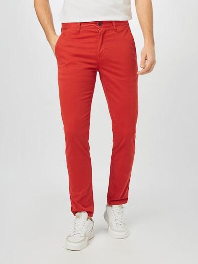 BOSS Casual Панталон Chino в оранжево, Преглед на модела