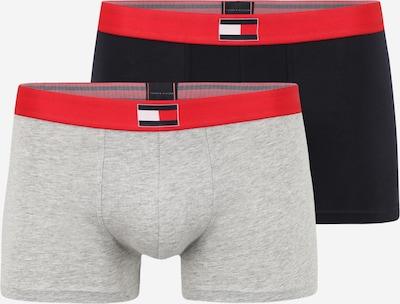 Boxeri Tommy Hilfiger Underwear pe albastru noapte / gri amestecat / cranberry / alb, Vizualizare produs
