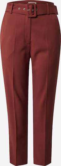 EDITED Spodnie w kant 'Barbara' w kolorze czerwonym, Podgląd produktu