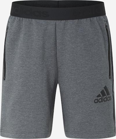 Pantaloni sportivi ADIDAS PERFORMANCE di colore grigio scuro / nero, Visualizzazione prodotti